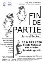 SAMUEL BECKETT, SUIVI DE LA CHORALE DE LA BAILLE